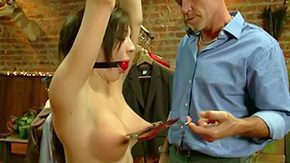 Enema, Audition, Babe, BDSM, Behind The Scenes, Big Tits