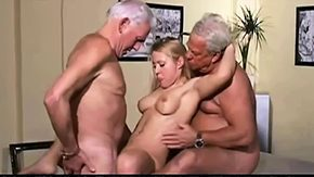 Old, 69, 3some, Aged, Amateur, Blonde