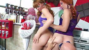 Ruffled, 3some, Ball Licking, Big Natural Tits, Big Tits, Blonde