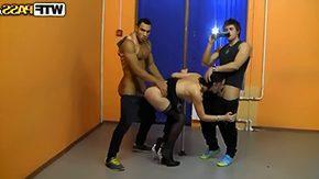 Dped, 3some, Assfucking, Big Tits, Black, Black Big Tits