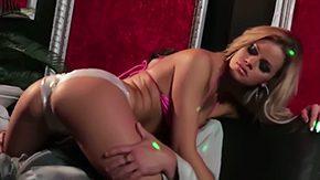 Jessa Rhodes, Ball Licking, Bikini, Blonde, Blowjob, Choking