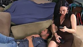 Free Mom and Boy HD porn Her son's super friend to fuck milf mommy smutty america my friends libidinous with dark hair undress blowjob home housewife softened
