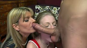 Daughter's Girlfriend, 3some, Adorable, Aunt, Ball Licking, Banging