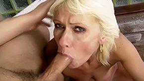 Kate Blonde, Aunt, Babe, Blonde, Blowjob, Cute