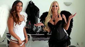Eva Lovia, Blonde, Brunette, Erotic, Glamour, High Definition