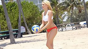 Bianca Jacobs, Amateur, Beach, Beauty, Bikini, Blonde