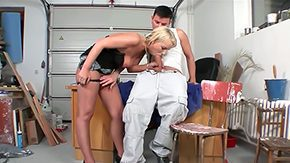 Ricky Silverado, Aunt, Ball Licking, Bitch, Blowjob, Cage