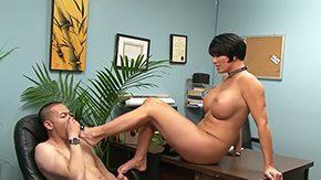 Nipple Slip, Blowjob, Boobs, Brunette, Erotic, Feet