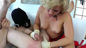Ballbusting, Ball Kicking, Ballbusting, BDSM, Blonde, Boots