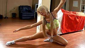 Aerobics, Aerobics, Anorexic, Ballerina, Blonde, Boobs