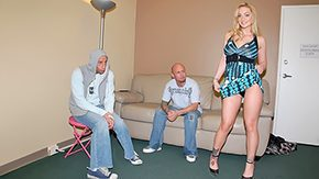 Upskirt, Blonde, Dress, Fucking, High Definition, Husband