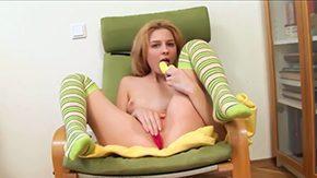 Kid, Amateur, Babe, Banana, Bedroom, Big Cock
