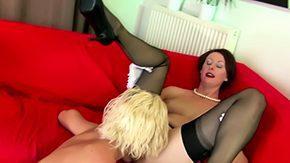 Lesbians Stockings, Aunt, British, British Fetish, British Lesbian, British Mature