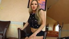 Blonde bitch in action european fuck thrusting hardcore heels young 30yo