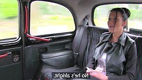 Taxi, Anal, Blowjob, British, British Anal, Creampie