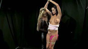 Dorina Gold, Basement, BDSM, Bitch, Bound, Cage