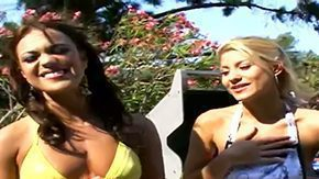Alyssa Reece, 3some, Banging, Bikini, Dildo, Fingering