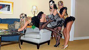 Melissa Jacobs, Blonde, Brunette, Clothed, Cunt, Dress