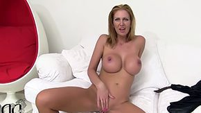 Free Leigh Darby HD porn Prossie Leigh Darby showing off her enormous tits is using her fingers to please her soggy cunt have dough of fun while