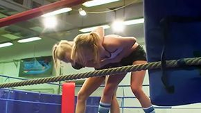 Girl Fight, Banging, Czech, Dildo, Fight, Fitness