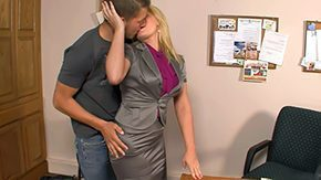 Flower Tucci, Blonde, Desk, High Definition, Teacher