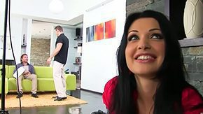 Ball Licking High Definition sex Movies Aletta Ocean enjoying 2 cocks inside of her mouth pending doing headjob she is being pissed hard nice 'tween utter of her holes with