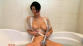 Nicoleta Emilie, Bath, Bathing, Bathroom, Big Natural Tits, Big Nipples