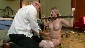 Angela Attison, Big Cock, Big Tits, Boobs, Caught, Cleaner