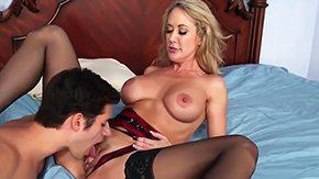 Brandi Love, American, Ball Licking, Banging, Bedroom, Blonde