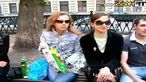 Free Russian Orgie HD porn Three cute chicks are Russian college girls Oksana Katrin Judy that dont mind having some horny pastime after classes for example wild genre orgy