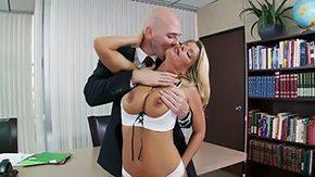 Office, Angry, Babe, Big Natural Tits, Big Nipples, Big Tits