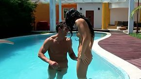 HD Black Sonja tube Stud with enormous big cock is relaxing with girl Ebon Sonja He is hustling magic mouth bawdy cleft taut backdoor of beauty by his
