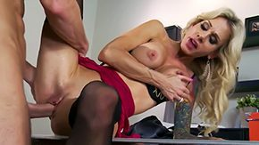 Sarah Jessie, Ball Licking, Banging, Blowjob, Boss, Car