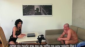 Female Agent, Audition, Behind The Scenes, Casting, High Definition, Horny