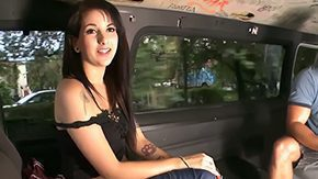 Aria Rae, Audition, Big Cock, Bus, Car, Casting