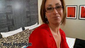 Hd, Aunt, Big Tits, Blowjob, Boobs, Fingering