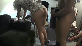 Wife Swap HD porn tube Girls watch their buttlock neighbor getting fucked 30yo noob american bright-haired brunette doggy from behind spanking group housewife MILF camera screwing party reality