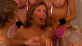 Playboy, Bend Over, Blonde, Brunette, Dildo, Doggystyle