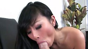 Gagging, Asian, Big Ass, Big Cock, Blowjob, Chinese