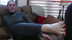 Femdom HD tube Steady missy has covetous trotters