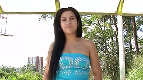 Sara Romero HD porn tube Chachita Sara Romero with big jugs coupled with shaven twat
