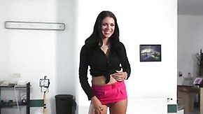 Lap Dancing, Audition, Behind The Scenes, Brunette, Casting, Cute