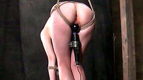 Pi, BDSM, Blonde, Bondage, Bound, Buttplug