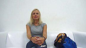 Czech Casting, Amateur, Audition, Behind The Scenes, Blonde, Blowjob