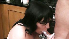 Kitchen, Amateur, BBW, Bend Over, Big Natural Tits, Big Tits