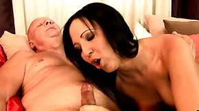 Grandpa, Amateur, Babe, Blowjob, Brunette, Grandfather
