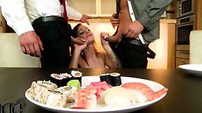 Sushi, 3some, Anal, Anal Finger, Ass Licking, Assfucking