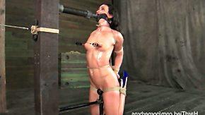 Sweat, BDSM, Bondage, Bound, Fetish, Nipple Clamp
