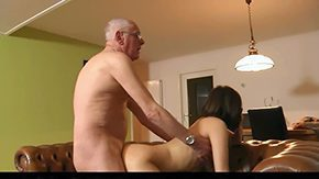 Muff Diving, Aged, Aunt, Bend Over, Blowjob, Dad