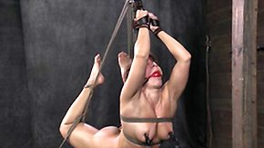 Tied, BDSM, Blonde, Bound, Choking, Gagging